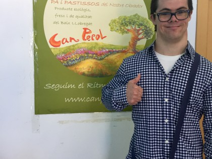 "Marc starts his job training in ""Can Perol"""