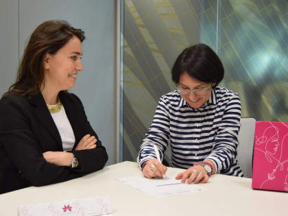 Firma contracte laboral EUROGRAGANCE