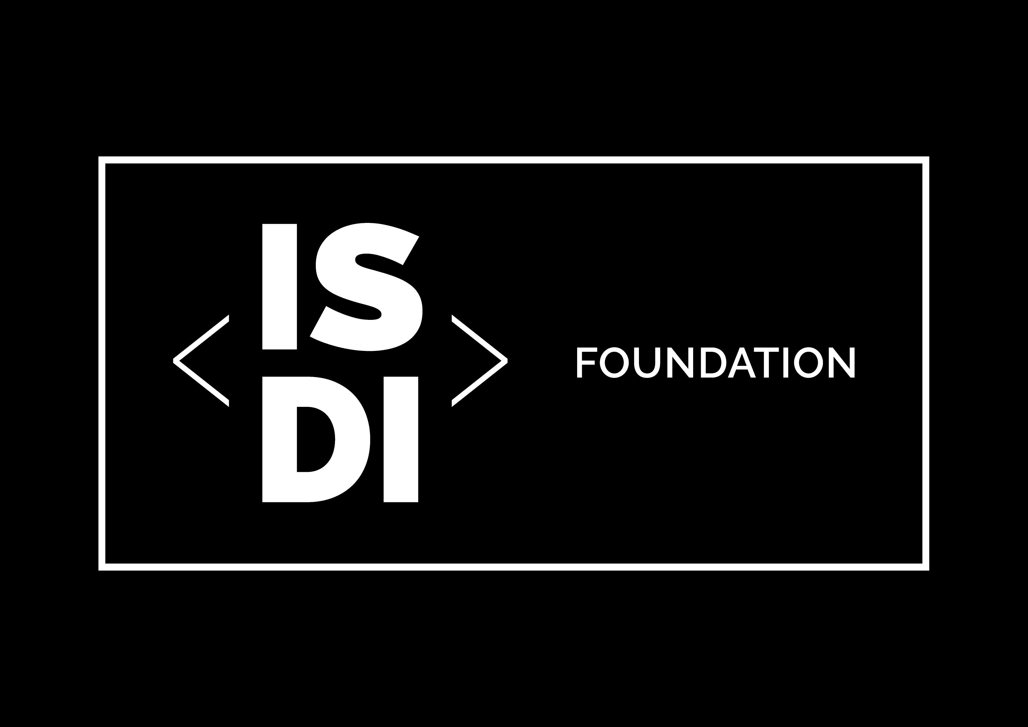 ISDI FOUNDATIONLOGO_HORIZONTAL_NEGATIVO